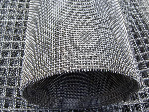 High tensile steel crimped wire mesh for mining sieve screen mesh