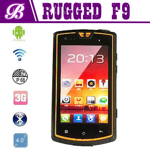 New Cheapest Battery 3000mAh 5.0MP Camera with Walkie Talkie and NFC Mobile Phone F9