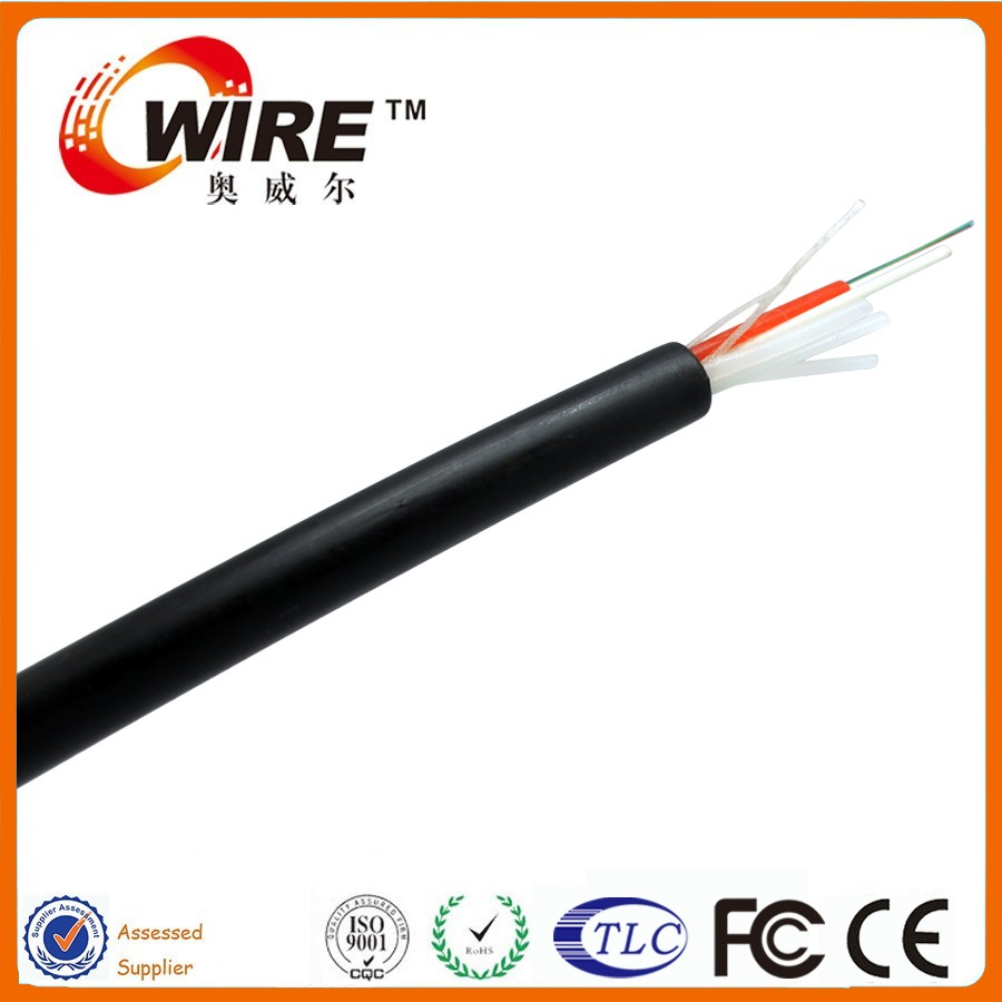 OWIRE Stranded loose Tube steel tape armored outdoor GYTY 24 core singlemode fiber optic cable