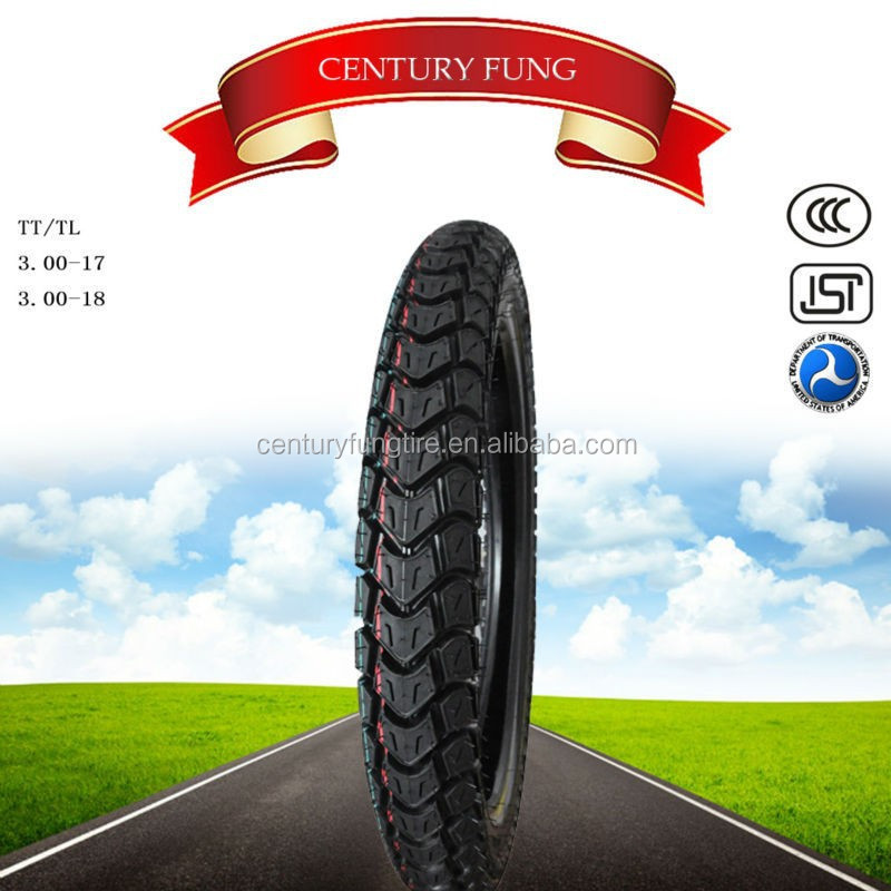 qingdao century fung motorcycle tires 300-17 in china