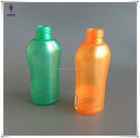 68ml hotel small plastic bottle plastic bottle shape design