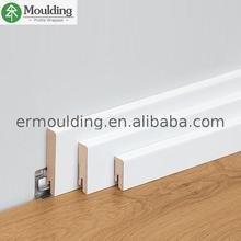 New Design customized size wooden skirting board quarter round