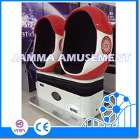 2016 New Year Promotion Sale 9D Cinema Double Seats 9DVR Cinema Equipment With Oculus Rift