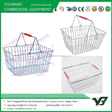 New High Quality Design Chrome Plated Wire shopping Basket