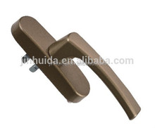 High Quality Zinc Alloy Casement Window Lever Lock Handle, Aluminum Window Handle window hardware