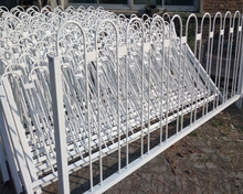 temporary safety barrier fence/used crowd control barriers