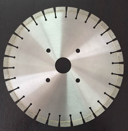 Newest design high quality Silent Core Wet Cut Granite Diamond Saw Blade