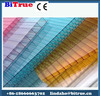High performance polycarbonate glazing sheet