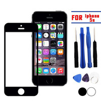Outer Screen Glass Lens Replacement For iPhone 5S Free Tool