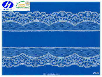 Fujian Beautiful latest design embroidery trimming guipure lace encajes in 2017