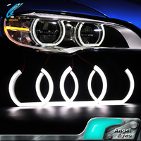 Hot! newest Auto car accesories led lights navigation F30 style smd angel eyes ring light with cover for E92