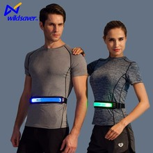 Sports outfit LED reflective running cycling waist belt