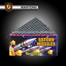buy 120 shots triangle saturn missile fireworks