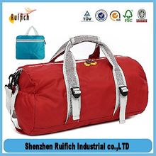 Top quality polyester folding travel bag,folding travel organizer,quality ripstop nylon folding luggage travel bag