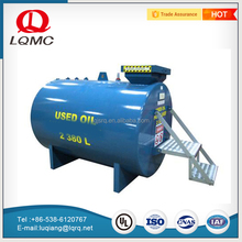 Cylindrical double walled carbon steel 30m3 storage tank