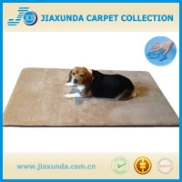 Durable Washable Memory Foam Coral Fleece Waterproof Pet Dog Bed Mat