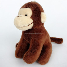mini monkey make plush keychains