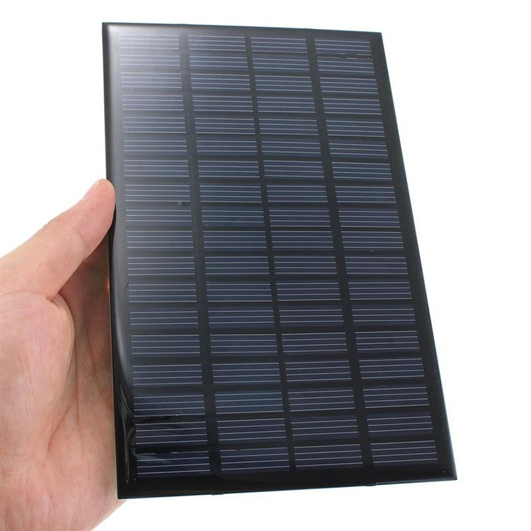 3w 6v custom made round shape solar panel for LED light