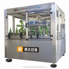 automatic recycle glass bottle cleaning washing machine for beer wine