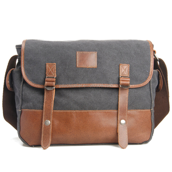 Canvas messenger bag for women, shoulder messenger bag, best messenger bag for college