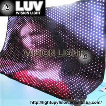 Stage decoration light LED flexible soft led video curtain