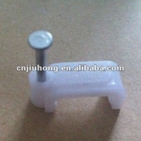 Plastic Nail Wall Cable Clip