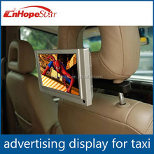 "7 Inch lcd/led Android Ad player, 7"" Digital frame advertising led Taxi display"