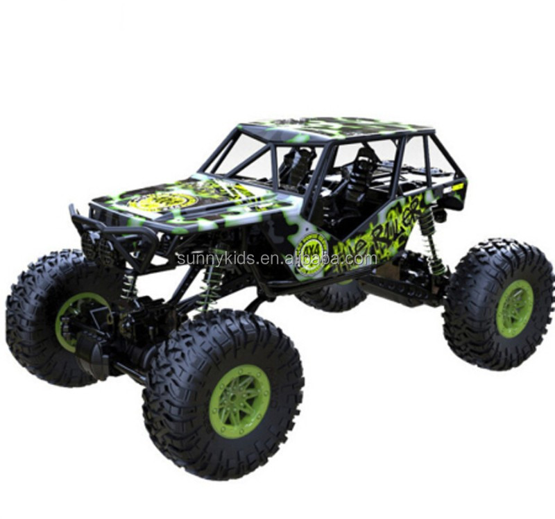 1:10 2.4GHz four-wheel-drive remote control climbing car wholesales rc car