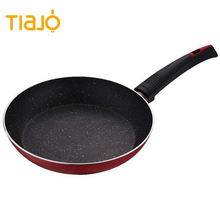 Cheap Pressed aluminum granite stone non stick coating frying pan
