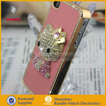 Luxury Diamond Cat Phone Case For Iphone 5 5g