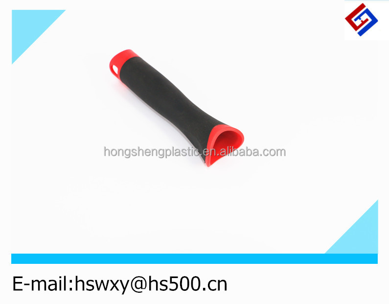 Red Decorative plastic paint roller brush handle with wholesale price