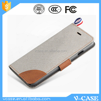 Book Flip Stand Card Holder Leather Wallet Phone Case Cover for Nokia C2-01