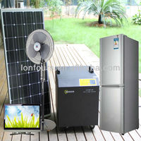 200w~1400w solar panels with built in inverters 1000W output system