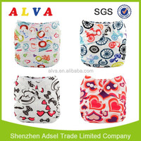2015 Alva best selling Reusable TPU Fabric Adjustable one size baby cloth diapers from China supplier