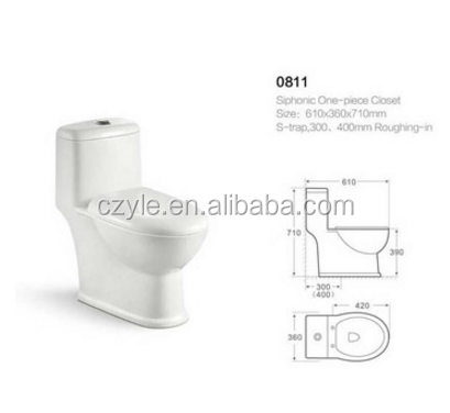 China Products Sanitary Ware Sanitary Ware One Piece Toilet