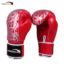 Custom Print Kicking Fitness Cheap PU Boxing Gloves
