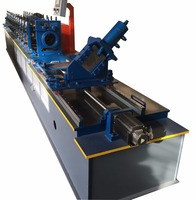 High speed Automatic Light Steel Ceiling tiles keel frame Roll forming making machine for sale