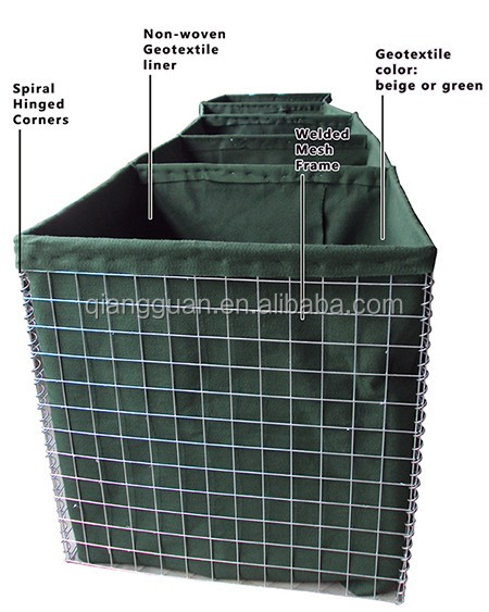 hesco barrier/hesco bastion price