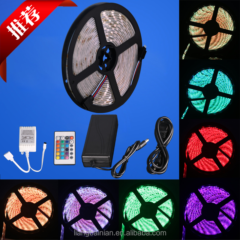 factory wholesales 5050 low voltage LED strip 12V super brightness waterproof single chip