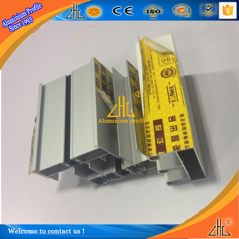 Foshan factory wholesale aluminum doors & windows for project , double glazing aluminium sliding window