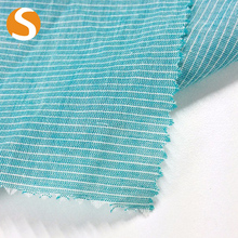 China supplier new color 100% cotton satin stripe dyed fabric