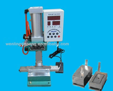 Metal Pneumatic Fridge Magnet Making Machine