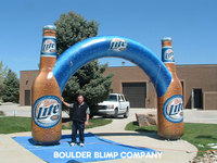 Customized Produce Vinyl Inflatable arch