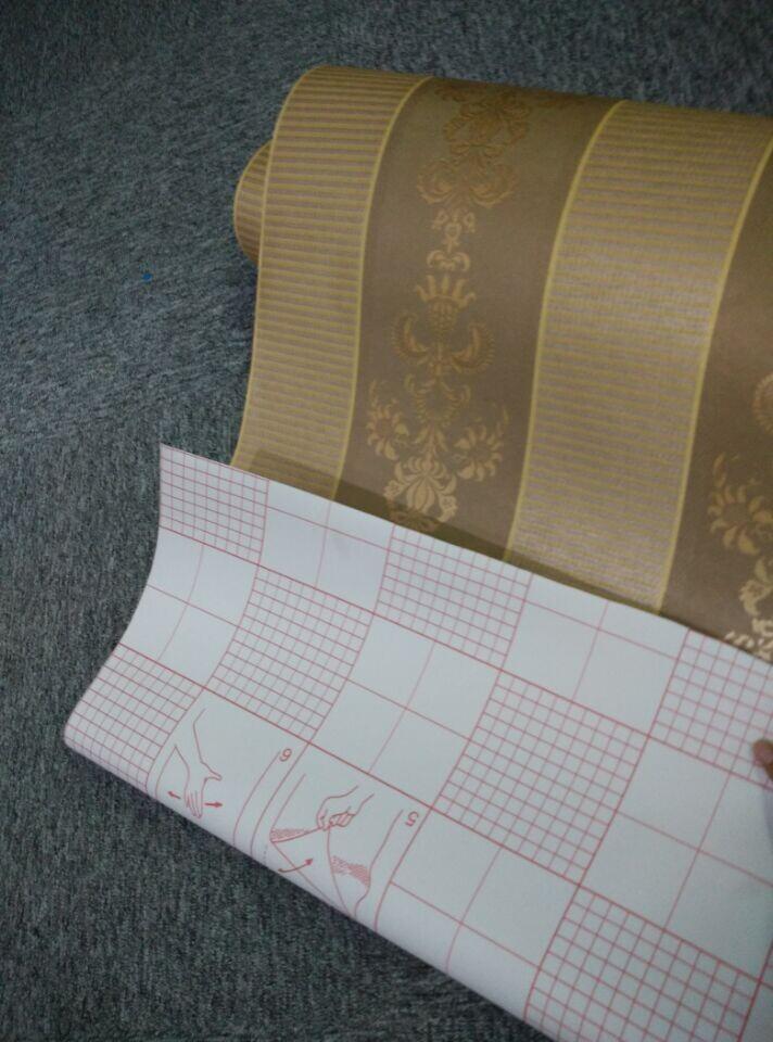 Hot sales adhesive backed wallpaper good quality adhesive for Wallpaper with adhesive backing