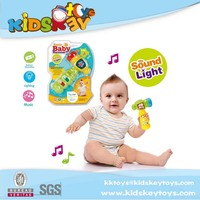 Electric baby toy baby musical plastic hammer toy with sound and light
