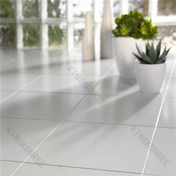 Black sparkle floor tiles