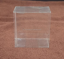Clear Plastic Soap Box soft fold recyclable clear plastic packaging box