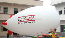 advertising inflatable white blimp / customized inflatable promotional/ for event