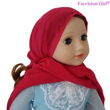 Vinyl kids dolls toys Muslim Girl Arab talking baby doll with hijab