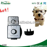 wireless fences for large dogs A200 with Rechargeable and waterproof receiver collar